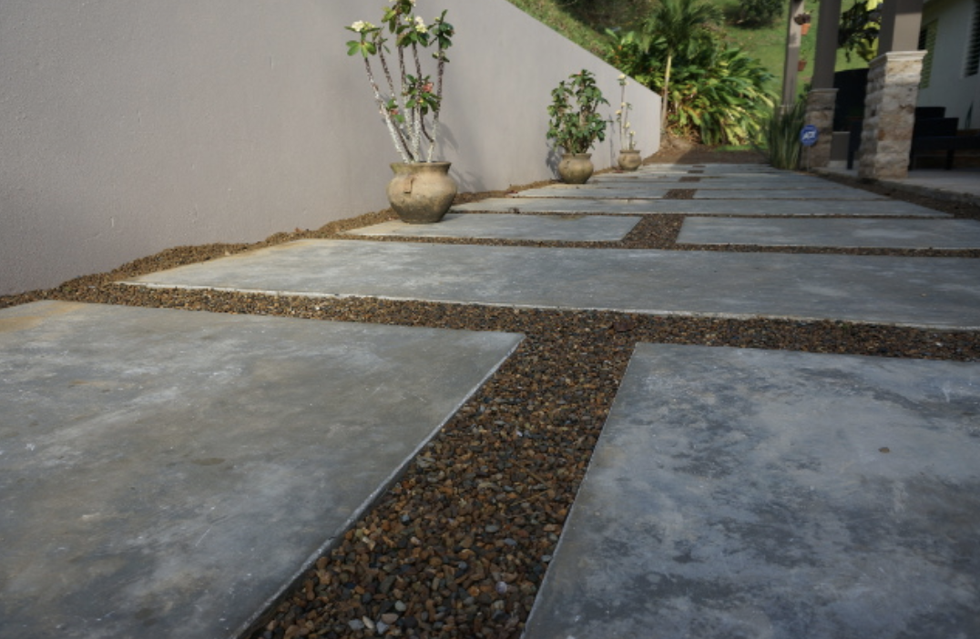 C mo utilizar cemento pulido vs hormig n expuesto en tu for Piso de concreto cera cocina