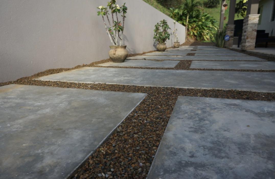 C mo utilizar cemento pulido vs hormig n expuesto en tu for Cemento pulido para exterior